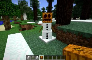 Snow-man-trong-minecraft